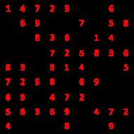Classic SuDoku Solutions 57 - 60