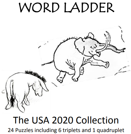 Word Ladder - The USA 2020 Collection